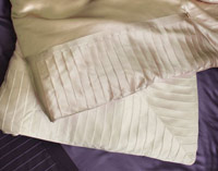 Kumi Kookoon French Pleat Silk Bedding