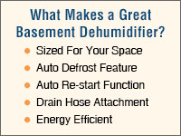 Basement Dehumidifiers for Homes!