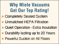 Why Miele Vacuum Cleaners