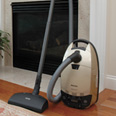 Miele S548 Champagne HEPA Vacuum Cleaners with Powerbrush