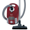 Miele Galaxy Series S4210 Antares HEPA Optional (Mango Red)- Deluxe Package