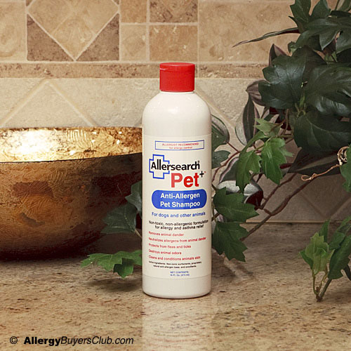 Allersearch Pet+ Anti-Allergen Pet Shampoo