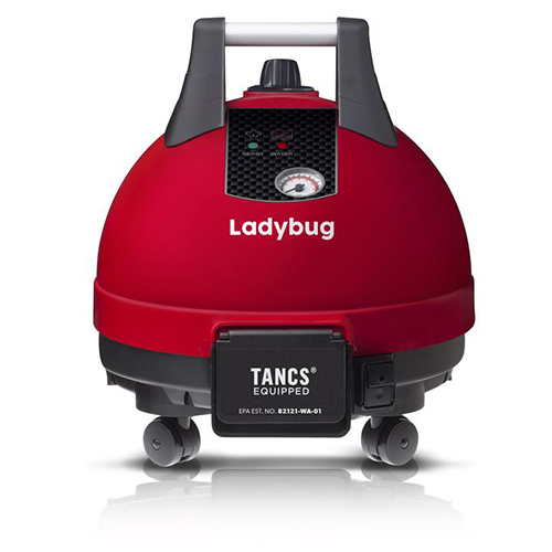 Ladybug 2300 TANCS Vapor Steam Cleaners - Supreme Package