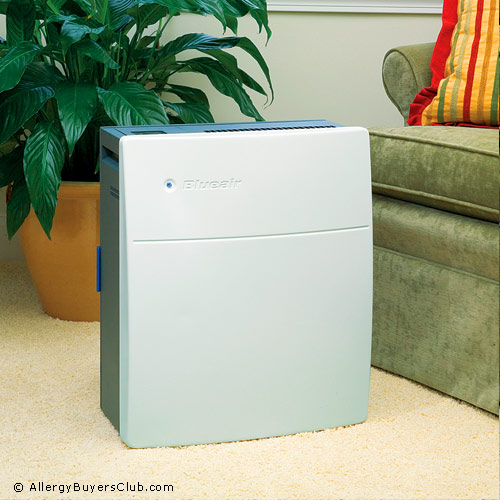 Blueair Classic 203 Slim Air Purifier with HEPASilent Filter