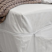 White Mountain Textiles Cotton Deluxe Mattress Cover