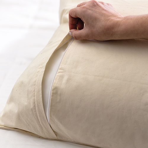 Solus Organic Cotton Dust Mite Pillow Cover AllergyBuyersClub Mesmerizing Allergy Pillow Covers Ratings