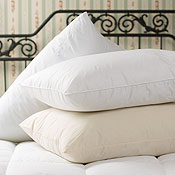 White Mountain Textiles Down Alternative Back Sleeper Pillow