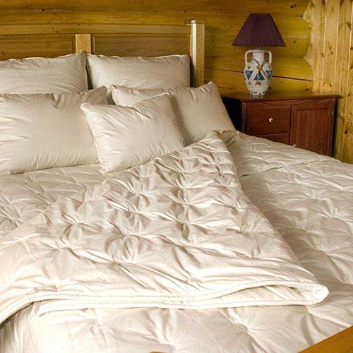 Crescent Moon Alpaca  Wool Organic Comforters
