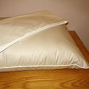 Home Essentials Organic Cotton Mattress and Pillow Dust Mite Covers