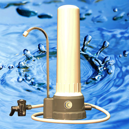 AquaCera HCP Countertop Water Filter with CeraUltra Filter