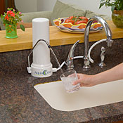 Imperial Countertop Water Filter with CeraUltra Filter