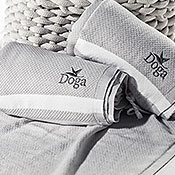 Hand-woven Organic Classic Towels by Doga