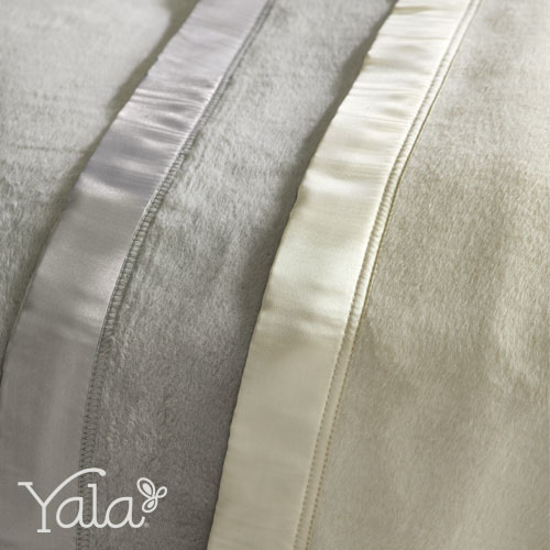Yala® Silk Fleece Blankets