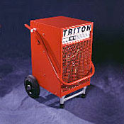 Ebac Triton Dehumidifiers with Built-in Pump