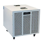 Fral FDK100 Dehumidifier with FREE QuietPure Whisper HEPA Tower Air Purifier by Aerus