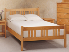 Solid wood bedroom furniture with heirloom quality craftsmanship