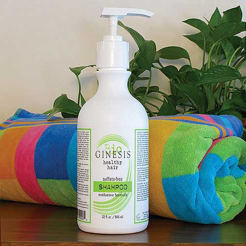 Ginesis Healthy Hair Natural Shampoo
