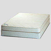 "Firm 7"" Organic Natural Latex Mattress by Healthy Choice"