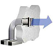 IQAir Outflow Duct Kit