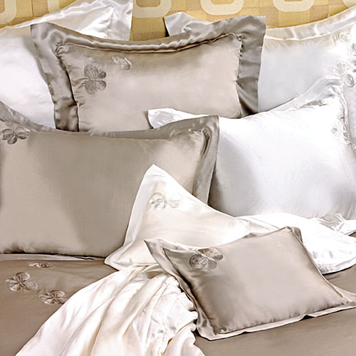 Kumi Kookoon Silk Butterfly Pillow Sham