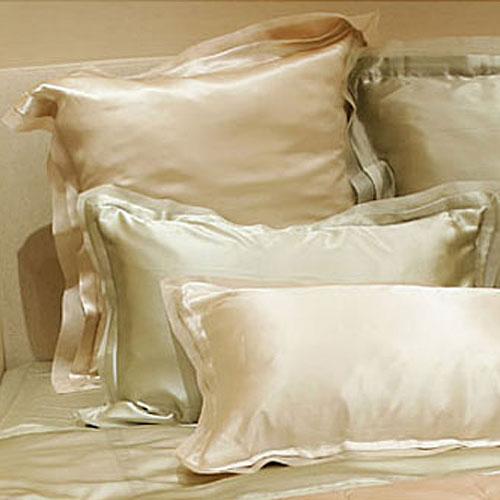 Kumi Kookoon Silk Organza Pillow Sham