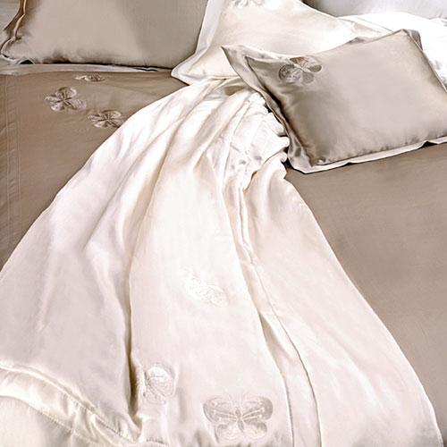 Kumi Kookoon Silk Butterfly Throw Blanket