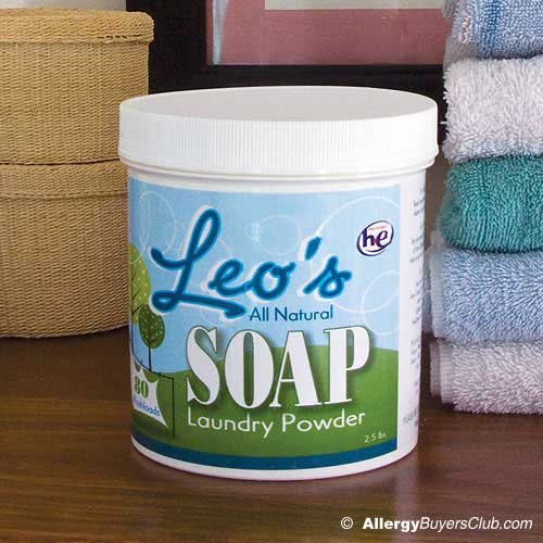 Leo's All Natural Soap Laundry Powder