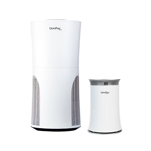 QuietPure Home+ Smoke Air Purifier with QuietPure Whisper Air Purifier