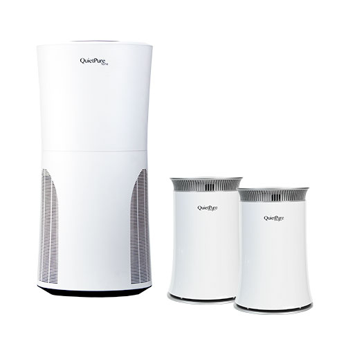 QuietPure Home+ Air Purifier with FREE QuietPure Whisper Air Purifier