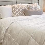 Hotel Plush Cooling Comforter, Sheet Set & Pillow Bundle