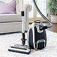 Silver and Black Veridian DeepClean Pet Vacuum Cleaner