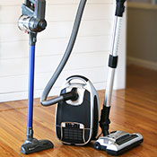 Veridian Stick & Pet Canister Vacuum Cleaner Bundle
