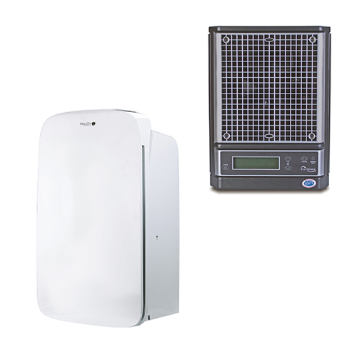 Ecosphere Air Cleaner with Pure & Dry Hepa 70 Air Purifier and Dehumidifier Odor Elimination Bundle
