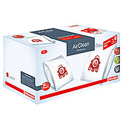 Miele Type FJM AirClean FilterBags & AirClean HEPA HA50 Filter Performance Pack