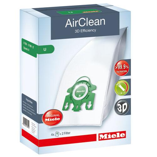 Miele Type U AirClean™ Vacuum Bags - Auto Renewal Program