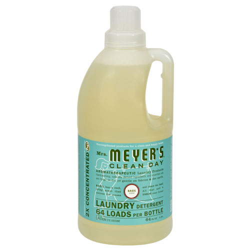 Mrs. Meyers® Clean Day Basil Laundry Detergent