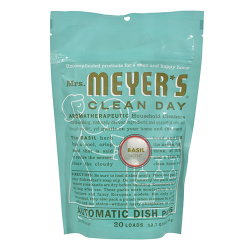 Mrs. Meyers® Clean Day Basil Automatic Dish Packs