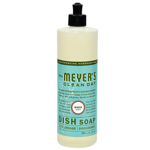 Mrs. Meyers® Clean Day Basil Liquid Dish Soap