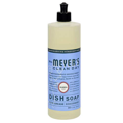 Mrs. Meyers® Clean Day Bluebell Liquid Dish Soap