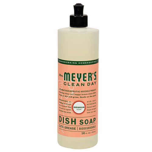Mrs. Meyers® Clean Day Geranium Liquid Dish Soap