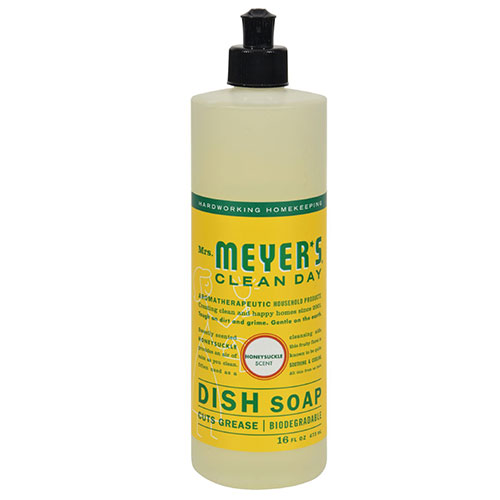 Mrs. Meyers® Clean Day Honeysuckle Liquid Dish Soap