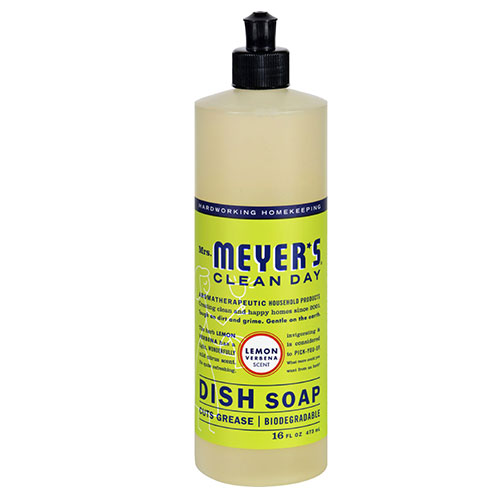 Mrs. Meyers® Clean Day Lemon Verbena Liquid Dish Soap
