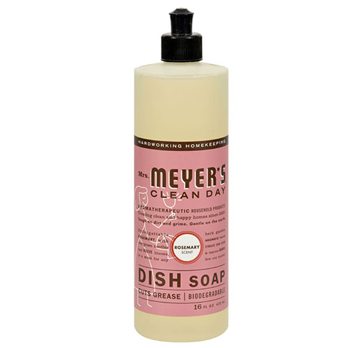 Mrs. Meyers® Clean Day Rosemary Liquid Dish Soap