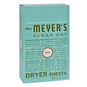 Mrs. Meyers® Clean Day Basil Dryer Sheets