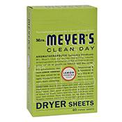 Mrs. Meyers® Clean Day Lemon Verbena Dryer Sheets