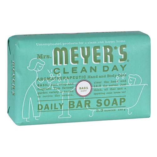 Mrs. Meyers® Clean Day Basil Daily Bar Soap