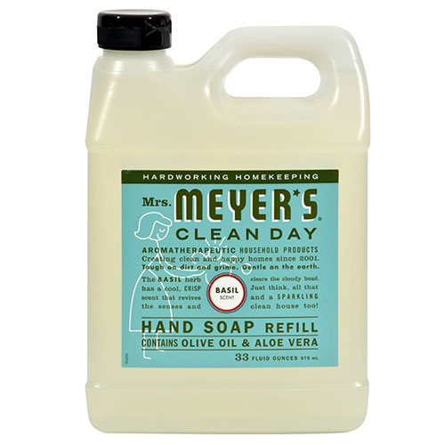 Mrs Meyer S 174 Clean Day Basil Liquid Hand Soap Refill