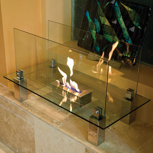Nu-Flame Fiero Floor Standing Bio-Fuel Fireplace