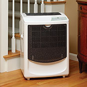 Pridiom PGD1080HCW 120 Pint Dehumidifier with Built-in Pump