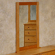Dresser Mirrors - Solid Maple Wood
